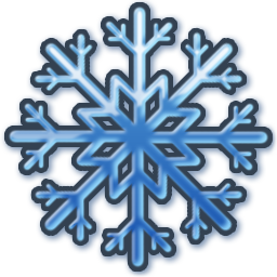 Blue Snow Icon Png Ico Or Icns Free Vector Icons