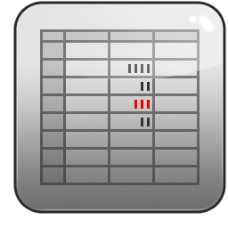 Numbers Icon Mac