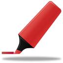 highlightmarker,red