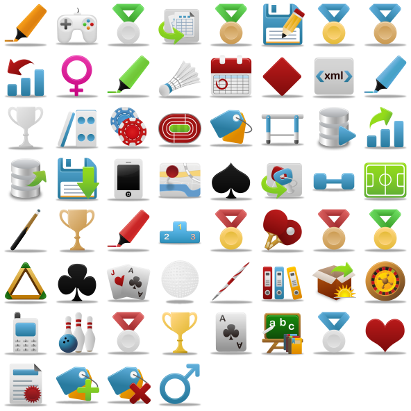 Pretty Office Icon Set Part 7