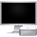 cinema,display,off,mac,mini,computer,monitor,screen