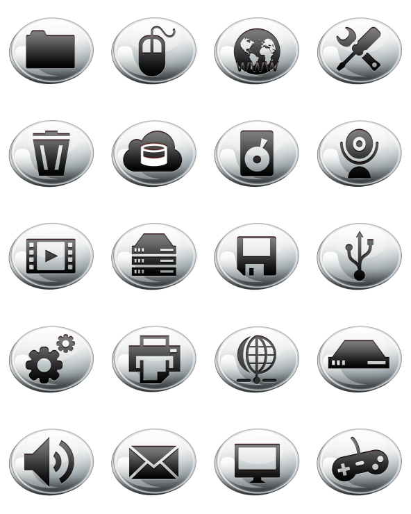 44 Free Icons, Icon Search Engine