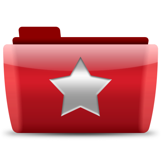 Folder-Favorite icons, free icons in Chakram 2, (Icon Search Engine)