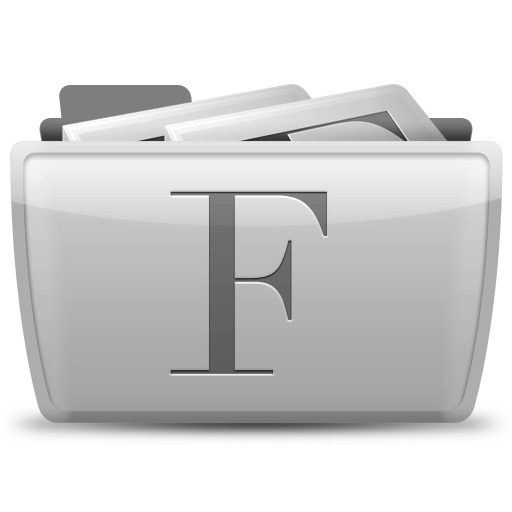 font,collection