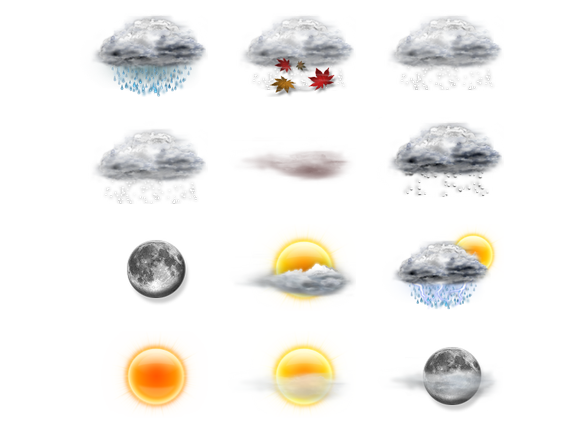 Weather Icons - 37 Free Icons, Icon Search Engine