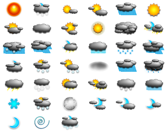 Simple Weather Icons - 42 Free Icons, Icon Search Engine