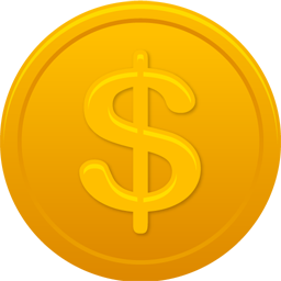Coin Us Dollar Icon Png Ico Or Icns Free Vector Icons