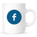 facebook,coffee,mug