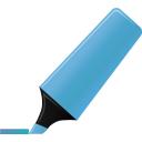 highlightmarker,blue