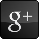 googleplus,custom,gloss,black