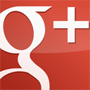 googleplus,square,gloss,red