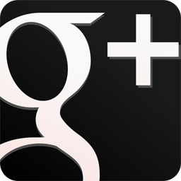 googleplus,black