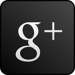 googleplus,custom,black