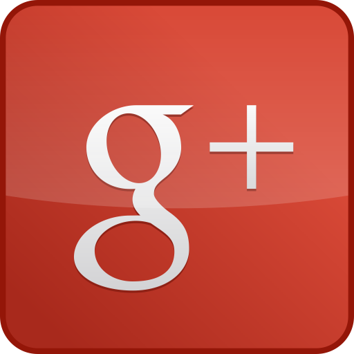 googleplus,custom,gloss,red