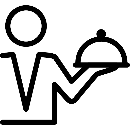 PNG ICO ICNS 512x512  Waiter Icon