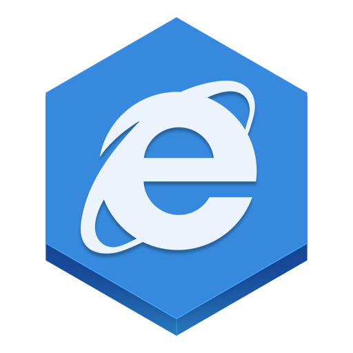 internet explorer icons, free icons in Hex Icons, (Icon ...