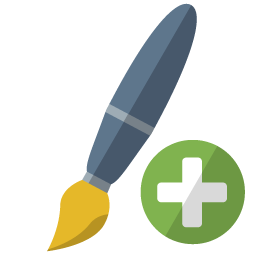 Brush Add Icon Png Ico Or Icns Free Vector Icons