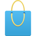 shopping,bag,blue