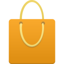 shopping,bag,orange
