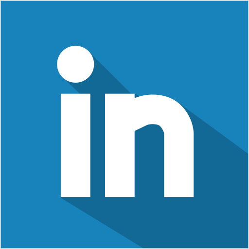 social,media,flat,shadow,set,linkedin