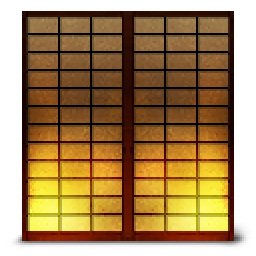 Shoji2 Paper Sliding Door Icon Png Ico Or Icns Free Vector Icons