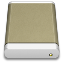 lightbrown,external,drive