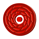 disc,red,cane,disk,save