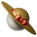 saturn,hat,planet,earth,globe