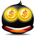 money,avatar,emoticon,face,emotion,cash,currency,coin