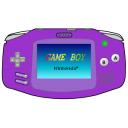 gameboy,advance,purple
