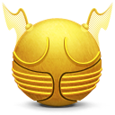 Golden Snitch icons, free icons in Harry Potter, (Icon ...