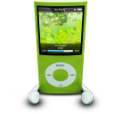 ipodphonesgreen
