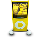 ipodphonesyellow