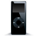 ipod,nano,black,mp3 player