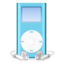 ipod,mini,blue,mp3 player