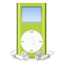 ipod,mini,green,mp3 player