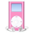 ipod,mini,pink,mp3 player