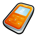 creative,zen,micro,orange,mp3 player,ipod