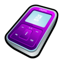 creative,zen,micro,purple,mp3 player,ipod