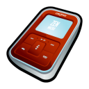 creative,zen,micro,red,mp3 player,ipod