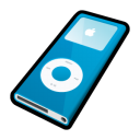 ipod,nano,blue,mp3 player