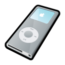 ipod,nano,silver,mp3 player