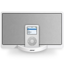 bose,sounddock,white