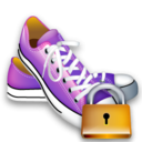 shoes,lock,locked,security