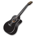 black,guitar,instrument