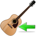 guitar,back,instrument,left,prev,backward,previous,arrow