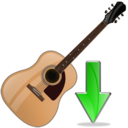 guitar,down,instrument,descend,download,fall,decrease,descending