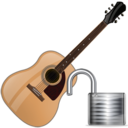 guitar,unlock,instrument