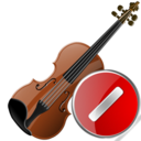 violin,cancel,instrument,stop,no,close