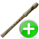 flute,add,instrument,plus